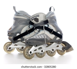 roller rink isolated on white
