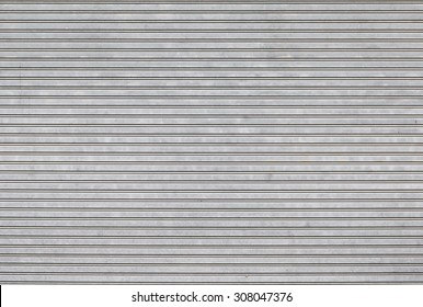 Roller shutter door texture background
