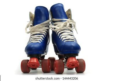 Roller skates, isolated on white