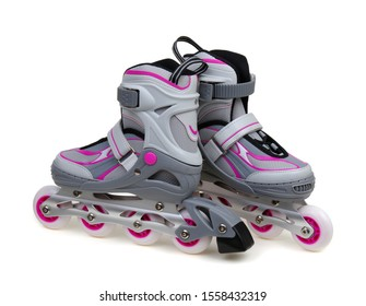 roller skates isolated on white background