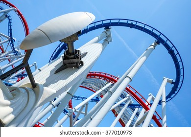 Rollercoaster in the park, Singapore