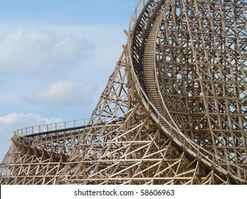 Rollercoaster Troy (Toverland Sevenum, the Netherlands)
