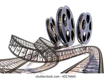 Rolling Films! Premiere countdown! Hi quality rendering image.