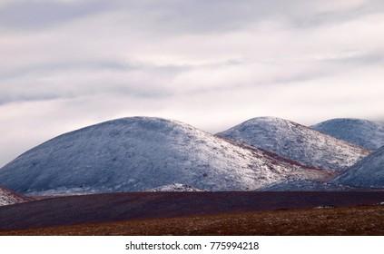 Rolling hills, Dempster Highway, Yukon