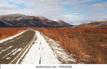 Rolling hills, Dempster Highway, Yukon