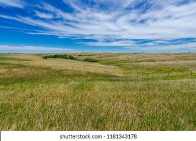 Rolling Hills - North Dakota, USA