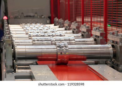 the rolling machine for hire thin sheet staly and profile formations
