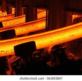 rolling mill steel plant