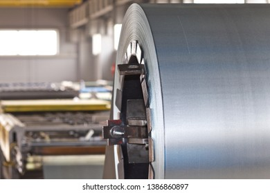 Rolls of cold-rolled galvanized steel in stock, Russia