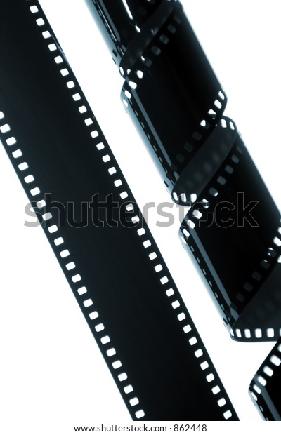 Rolls Film On White Background Stock Photo (Edit Now) 862448