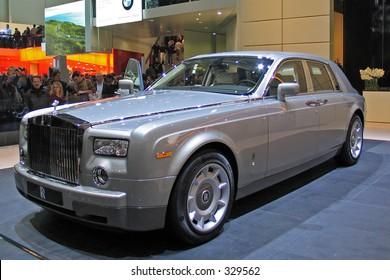 Rolls-Royce Phantom at Geneve Auto Salon 2004