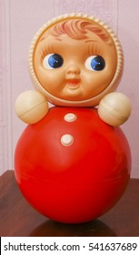 roly-poly toy, a toy from the Soviet Union