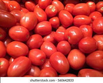 Roma Tomatoes Pile