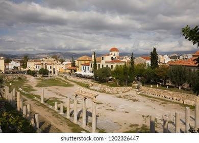 Roman Agora in Athens,Greece