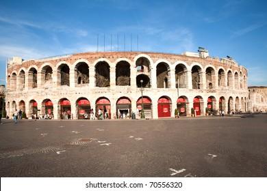 roman amphi theater,  Arena di Verona, Italy