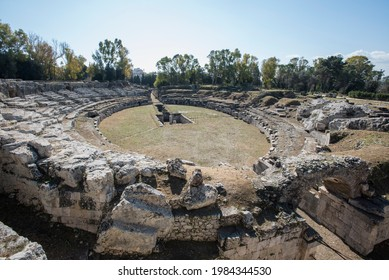 The Roman Amphitheater of Syracuse is one of the most representative building constructions of the early Roman imperial age.