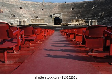the roman Amphitheater at Verona, Italy