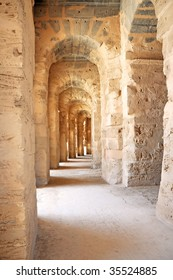 the Roman Amphitheatre of El Jem Tunisia