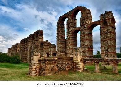 "Roman Aqueduct of ""Los Milagros"" Merida"