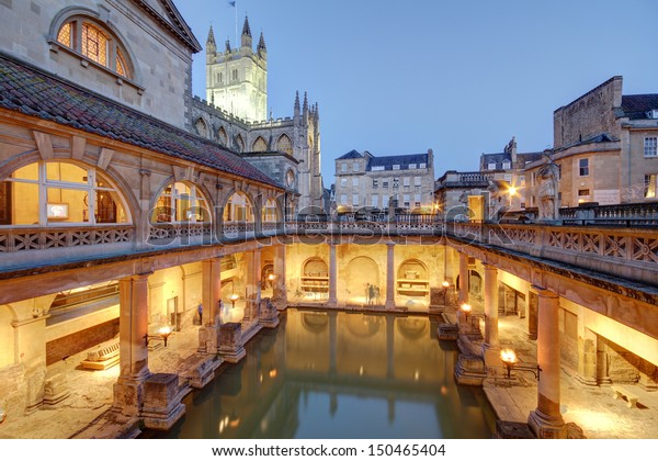 Roman baths at Avon England