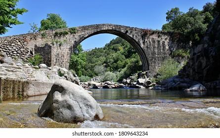 Roman Bridge in the Alardos Gorge, Madrigal de la Vera