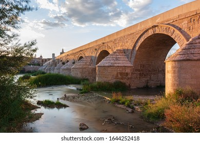 The Roman bridge in the city of Córdoba (Andalusia), one of the most beautiful in Spain.