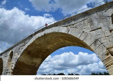 Roman Bridge at Saint-Julien, Provence, France