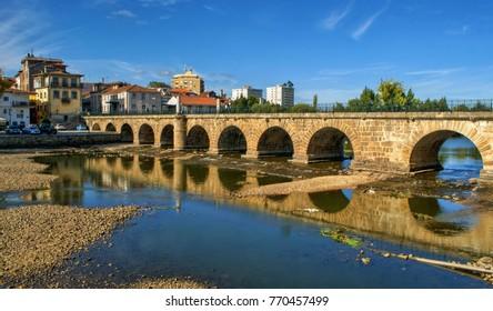 Roman bridge of Trajano, Chaves, Portugal