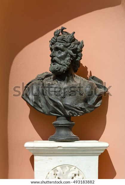 Roman bust of the philosopher
