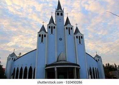 The Roman Catholic Church of the Holy Spirit in Heviz