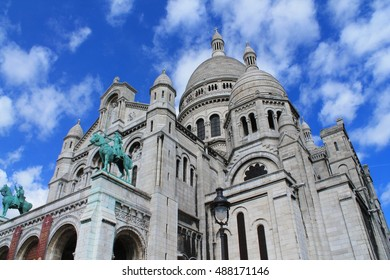 Roman Catholic church and minor basilica, dedicated to the Sacred Heart of Jesus, in Paris