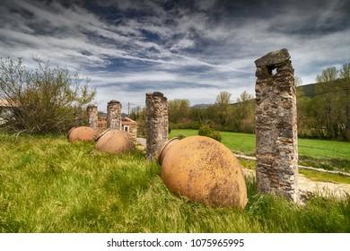 Roman city of ammaia, Alentejo Portugal