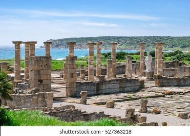 Roman city forum