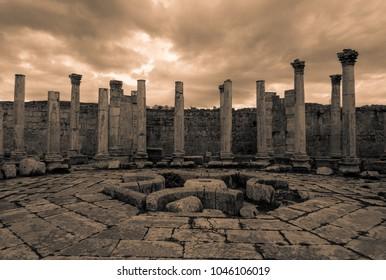 Roman city of Jerash in Jordan