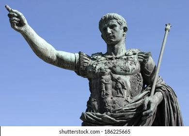 Roman emperor Augustus, Italy