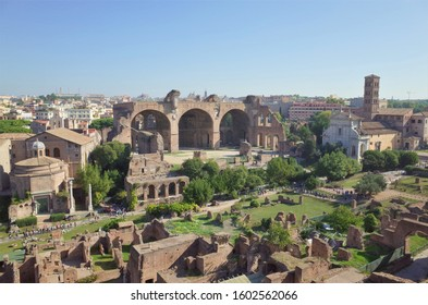 The Roman Forum(Italian: Foro Romano), is a rectangular forum (plaza) surrounded by the ruins of several important ancient government buildings in Rome Italy
