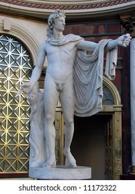 Roman Greek Male Statue