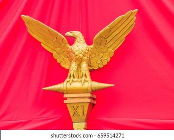 Roman legions of the eagle