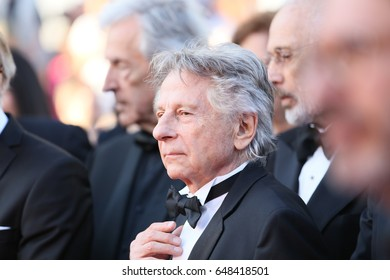 Roman Polanski attends the 70th Anniversary of the 70th annual Cannes Film Festival at Palais des Festivals on May 23, 2017 in Cannes, France.