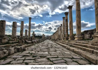 Roman Road in Jeresh