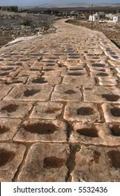 Roman road Syria