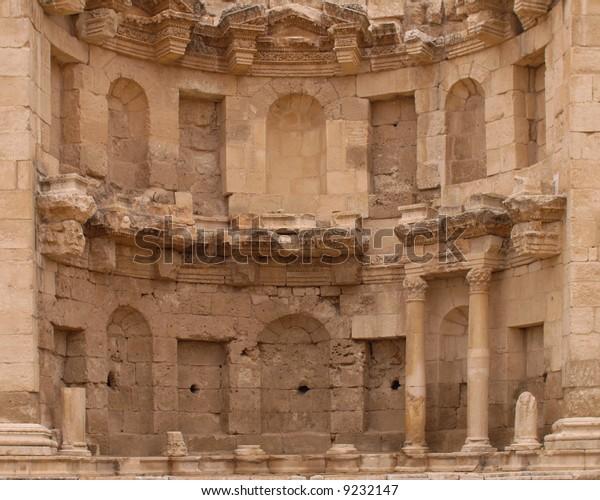 Roman Ruin in Jerash Jordan