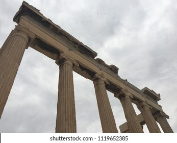 Roman ruins in Athens, Greece