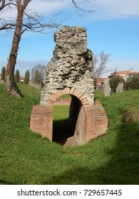 Roman Ruins in Park