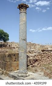 Roman ruins Thuburbo Majus Tunisia