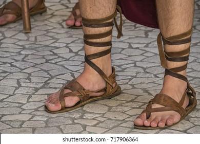 Roman Sandals Images, Stock Photos