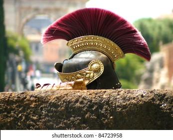 Roman soldier's helmet - Rome Italy
