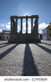 Roman Temple in Ã?Â?vora
