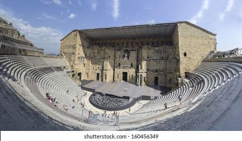 Roman theater, Orange, France