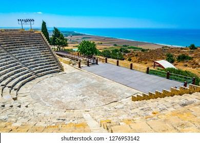 Roman theatre in the ancient Kourion site on Cyprus